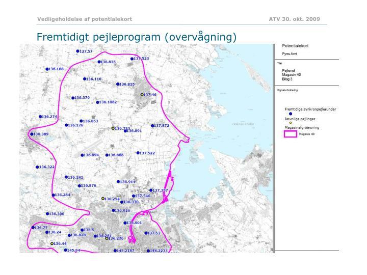 Vedligeholdelse af potentialekort                            ATV 30. okt. 2009