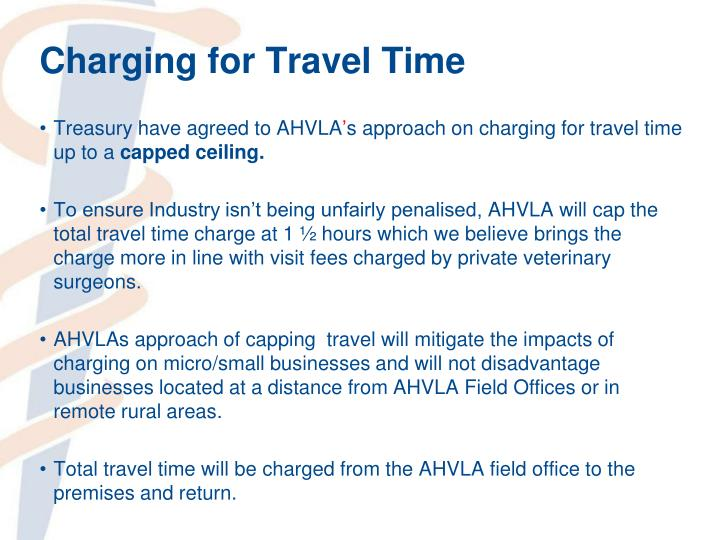 Charging for Travel Time