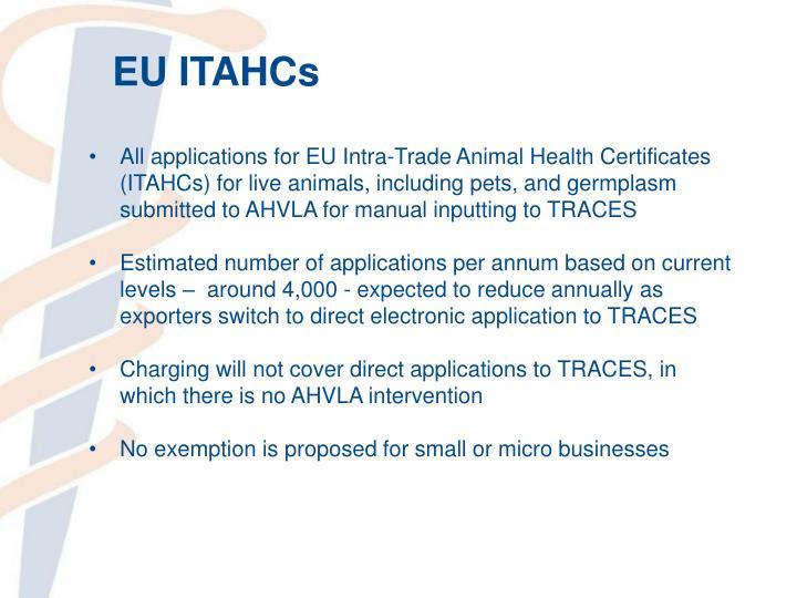 EU ITAHCs