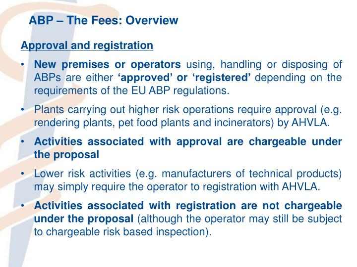 ABP – The Fees: Overview
