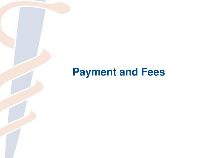 Payment and