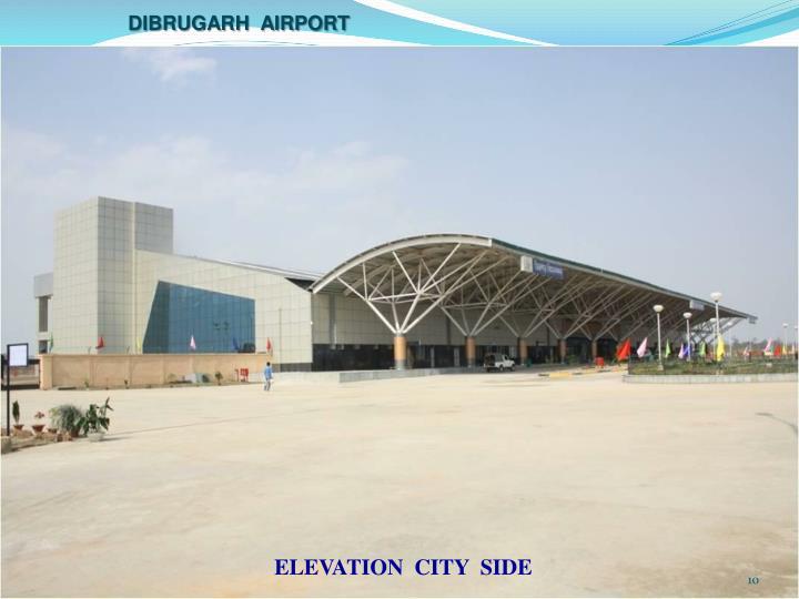 Dibrugarh  airport