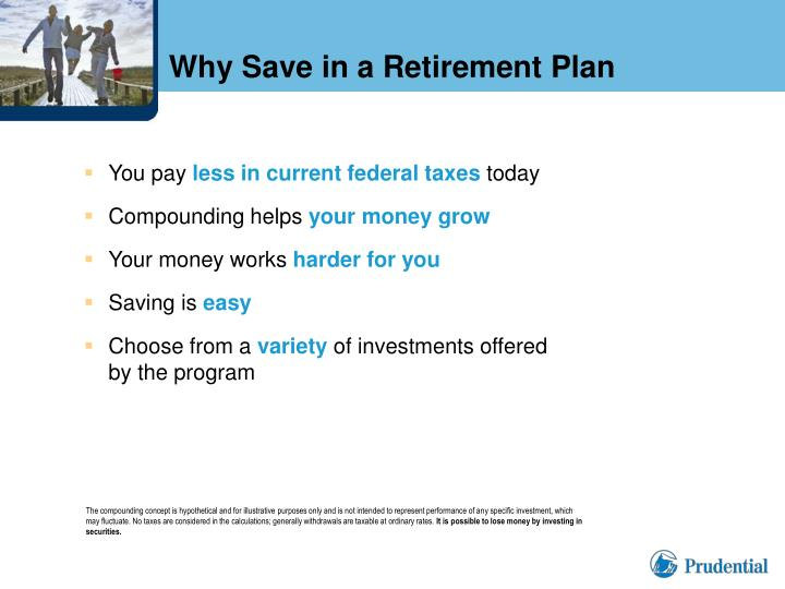 Why Save in a Retirement Plan