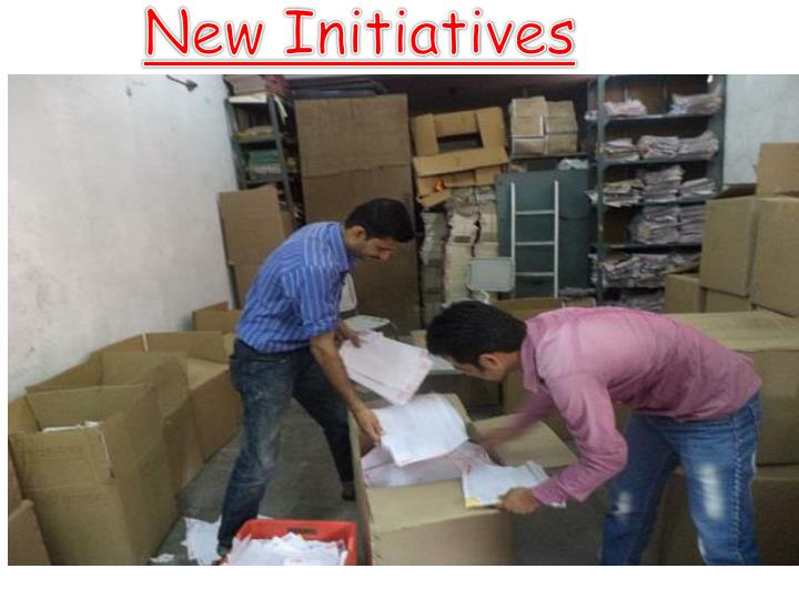 New Initiatives