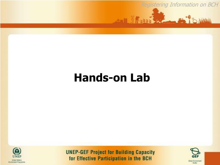 Hands-on Lab