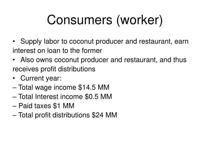 Consumers (worker)