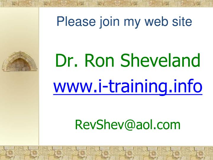 Please join my web site