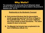 why walls