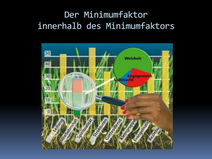Der Minimumfaktor