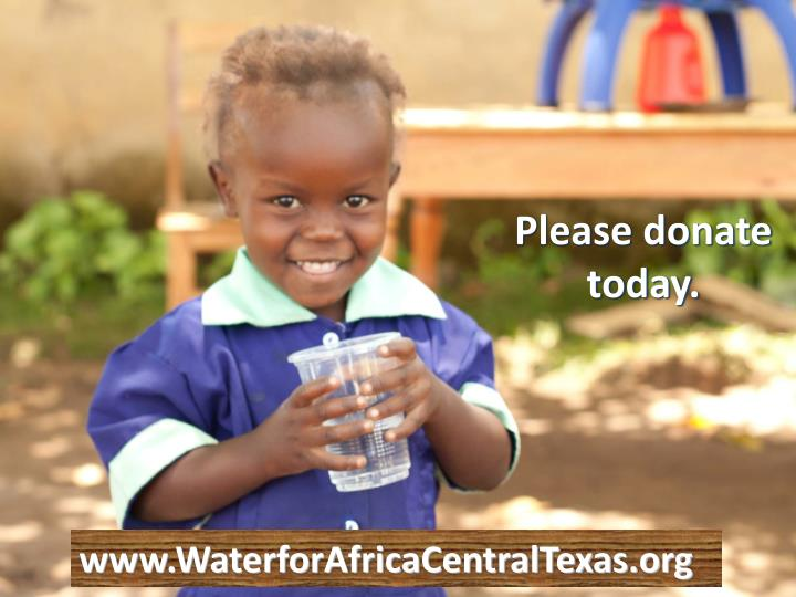 Please donate today.