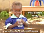 please donate today