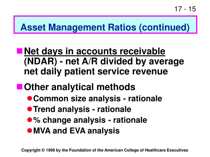 Asset Management Ratios (continued)