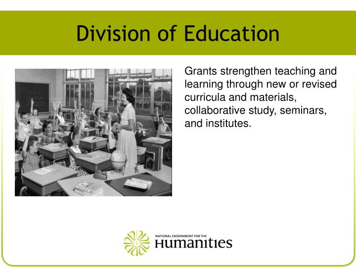 Division of Education