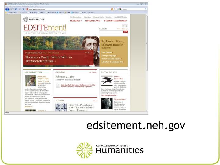 edsitement.neh.gov