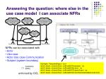 answering the question where else in the use case model i can associate nfrs