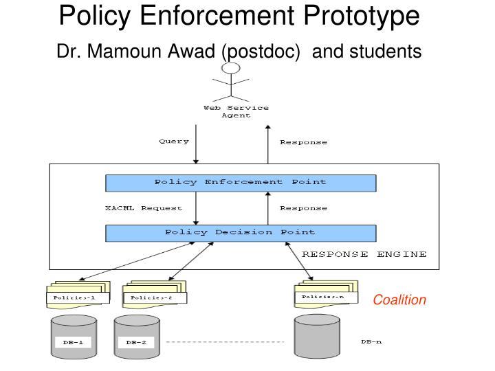 Policy Enforcement Prototype