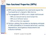 non functional properties nfps