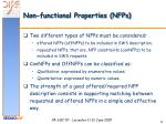non functional properties nfps1