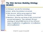 the web services modeling ontology wsmo1