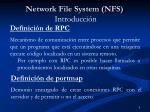 network file system nfs introducci n2