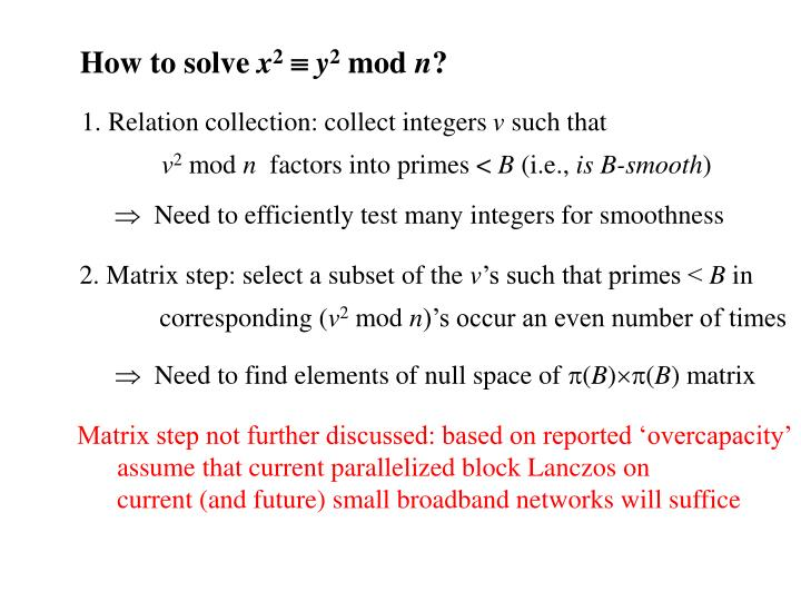 1. Relation collection: collect integers