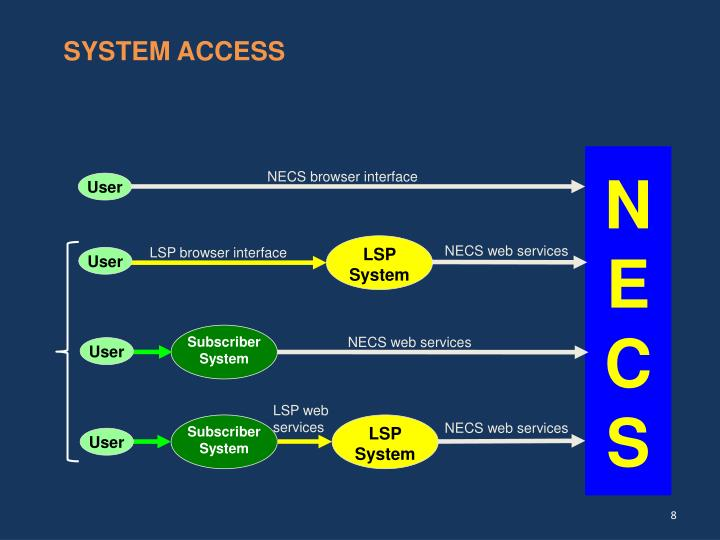 SYSTEM ACCESS
