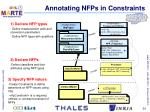 annotating nfps in constraints