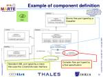 example of component definition