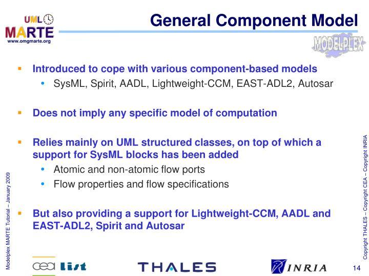 General Component Model