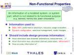 non functional properties