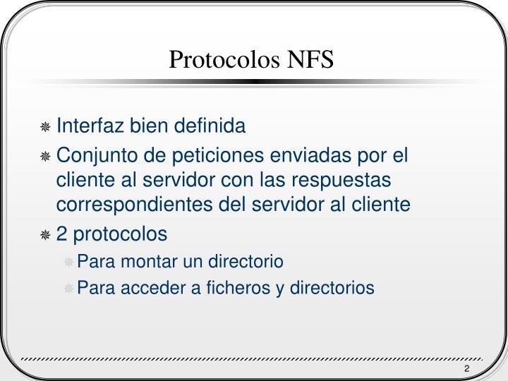Protocolos NFS