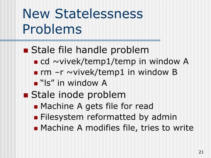 New Statelessness Problems