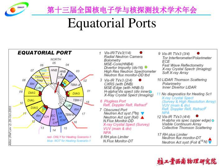 Equatorial Ports