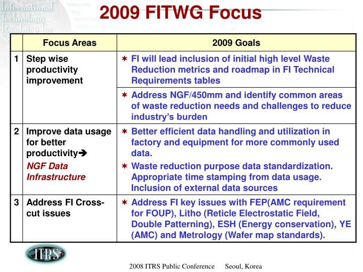2009 FITWG Focus