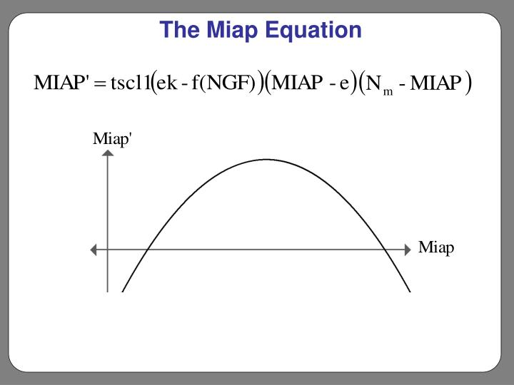 The Miap Equation