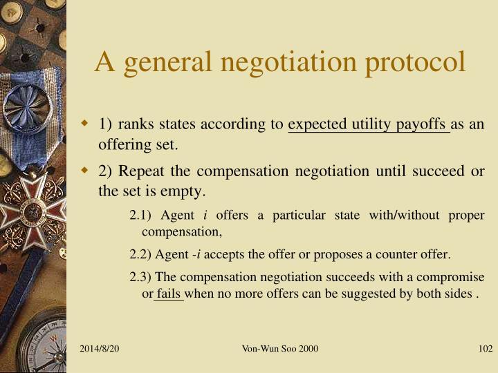 A general negotiation protocol