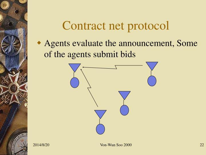 Contract net protocol