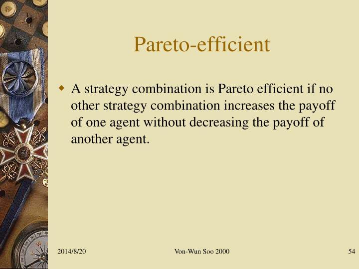 Pareto-efficient