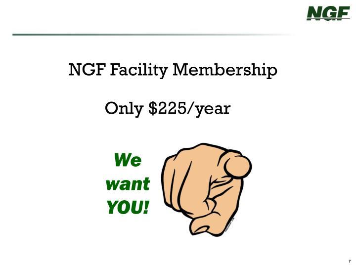 NGF Facility Membership
