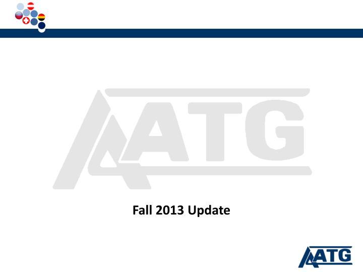 Fall 2013 Update