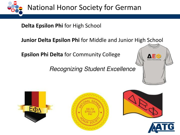 National Honor Society for German