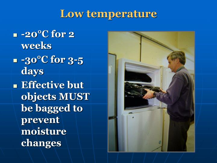 Low temperature