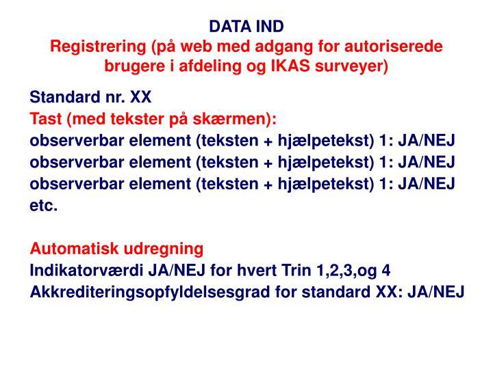 DATA IND