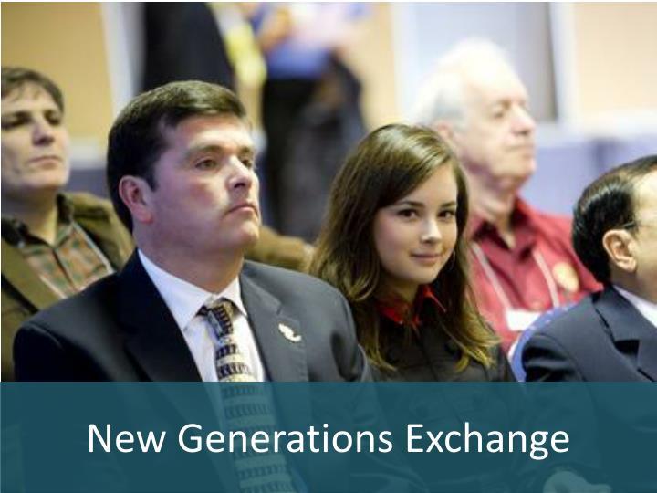 New Generations Exchange
