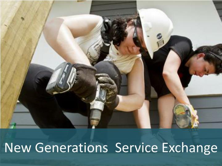 New Generations  Service Exchange