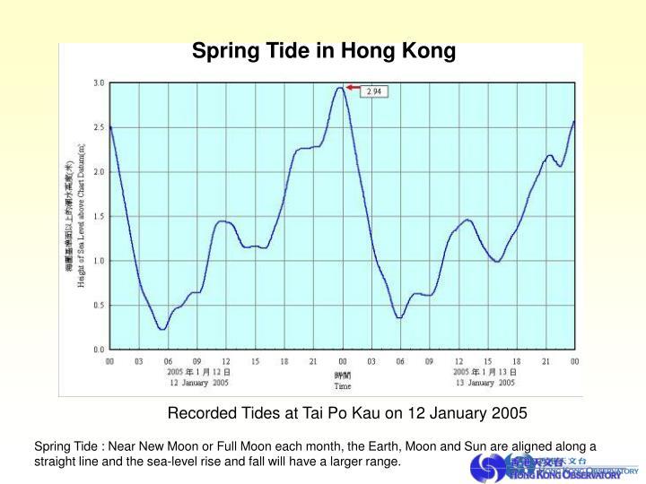 Spring Tide in Hong Kong