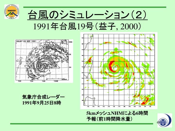 台風のシミュレーション(2)