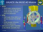 galacsi the muse ao module
