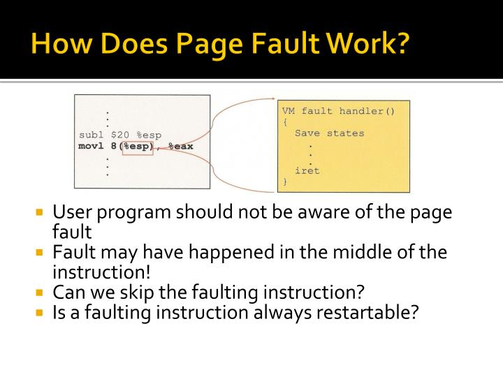 How Does Page Fault Work?