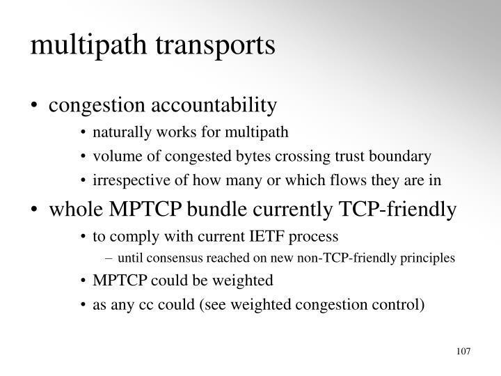 multipath transports